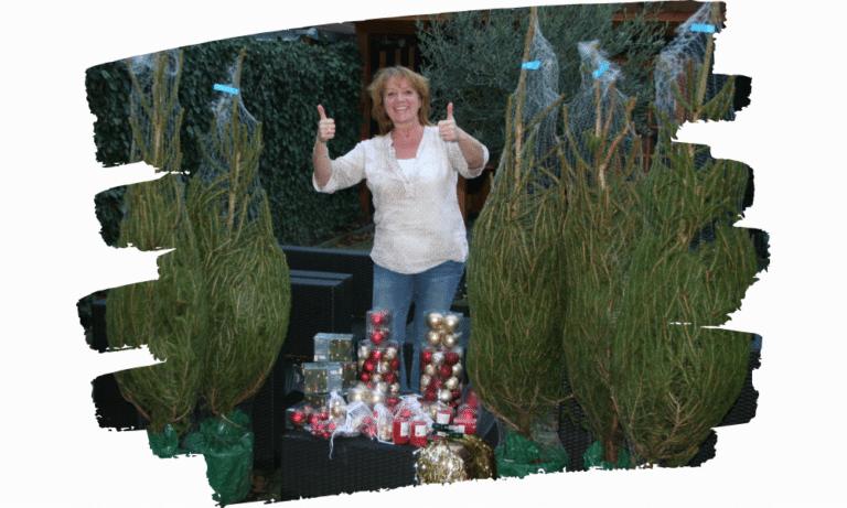 Kerstbomen voor eenzame ouderen